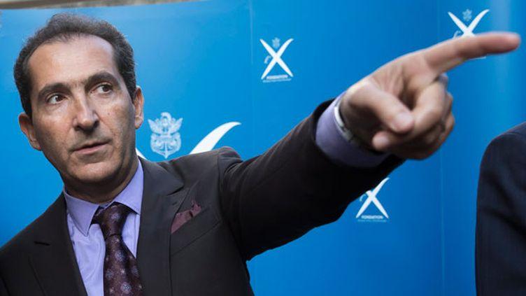 (Patrick Drahi, patron d'Altice (SFR, Numericable) poursuit sa montée en puissance dans les médias © Maxppp)