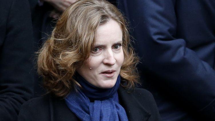 Nathalie Kosciusko-Morizet, vice-présidente de l'UMP, le 8 décembre 2014 à l'enterrement de Jacques Barrot à Paris. (KENZO TRIBOUILLARD / AFP)