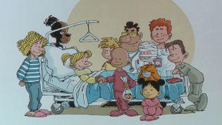 """La bande dessinée """"Boule à zéro"""" raconte avec humour le quotidien des enfants malades (Bamboo Eds)"""