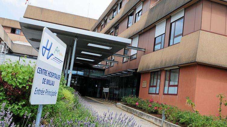 Le centre hospitalier de Millau, dans l'Aveyron, en juillet 2014. (Photo d'illustration) (EVA TISSOT / MAXPPP)