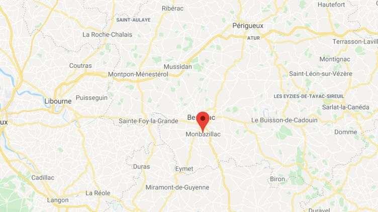 Monbazillac (Dordogne). (GOOGLE MAPS / FRANCEINFO)