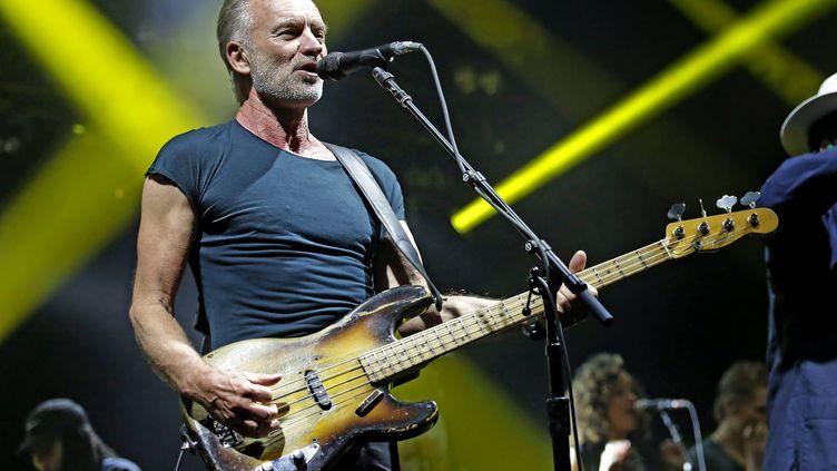 Sting joue au Manchester O2 Apollo le 25 mai 2019. (SH5/ SAKURA /WENN.COM/ SIPA)
