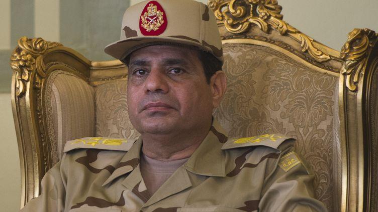 Le général Abdel Fattah Al-Sissi, au Caire (Egypte), le 22 mai 2013. (KHALED DESOUKI / AFP)