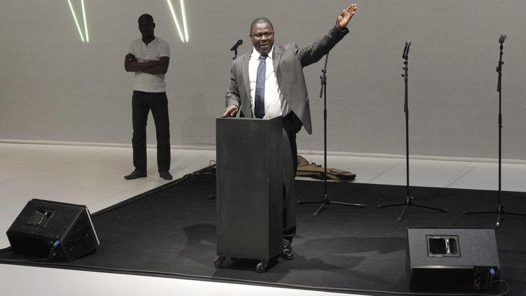 L'auteur et comédien burkinabè Moussa Sanou  (P.Victor)