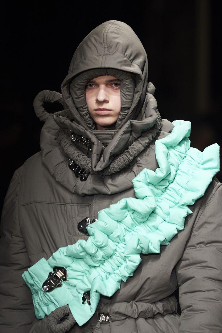 Craig Green ah 2017-18 à la London Fashion week, janvier 2017  (NIKLAS HALLE'N / AFP)