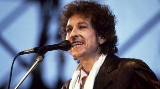 Bob Dylan lors d'un concert à Gothenburg (Suède), le 24 mai 1984. (ROGER TURESSON / SCANPIX SWEDEN)