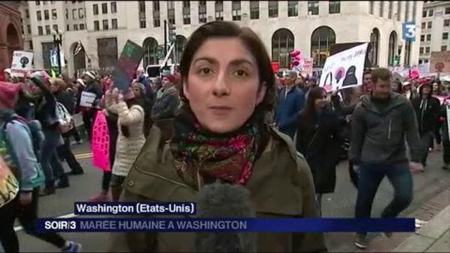 États-Unis : marée humaine à Washington