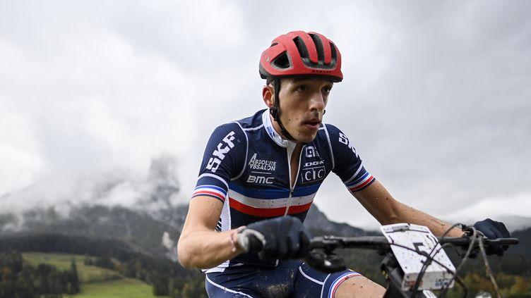 Jordan Sarrou s'est imposé en Autriche ce samedi (GIAN EHRENZELLER / KEYSTONE)