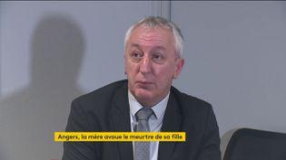 Éric Bouillard, le procureur de la République d'Angers (FRANCEINFO)