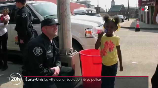 Etats-Unis : la ville qui a révolutionné sa police