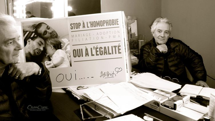 Le comédien Pierre Arditi pose pour Olivier Ciappa. (OLIVIER CIAPPA)