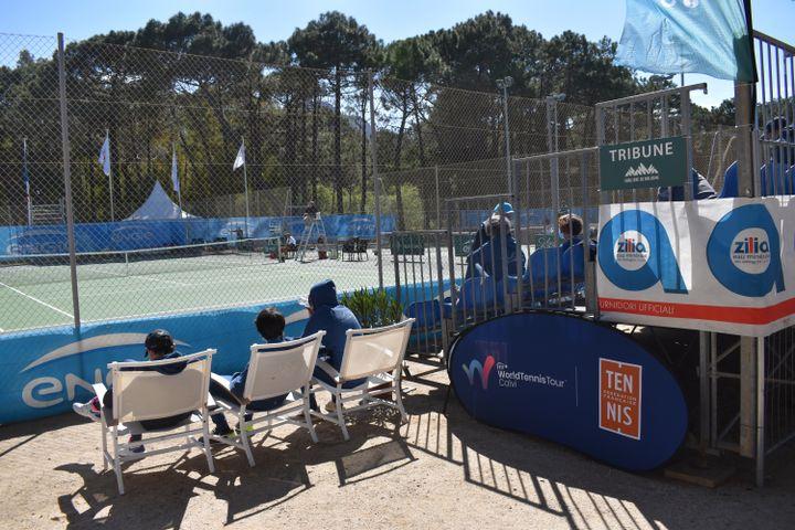 Seuls les bénévoles sont autorisés à assister à l'édition 2021 du Ladies Open de Calvi, du 11 au 18 avril. (Hortense Leblanc)