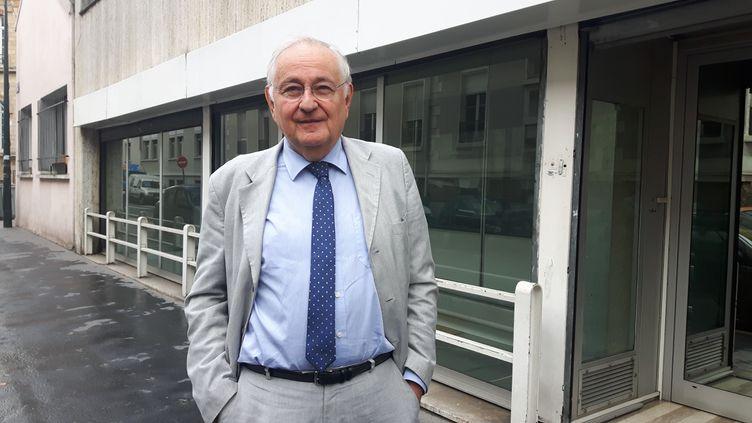 Jacques Cheminade, fondateur du parti Solidarité et Progrès. (SEBASTIEN BAER / RADIO FRANCE)