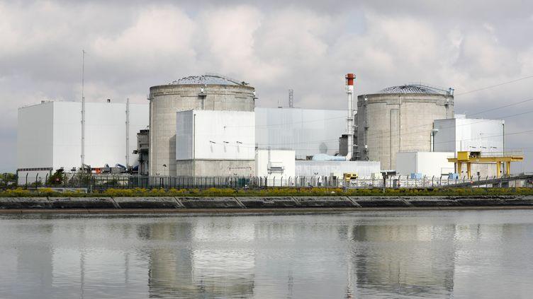 La centrale nucléaire de Fessenheim (Haut-Rhin) devrait fermer fin 2018 ou courant 2019. (RONALD WITTEK / EPA)