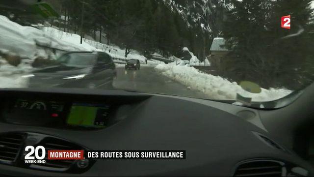 Montagne : des routes sous surveillance