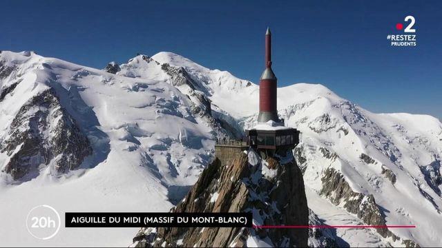 Déconfinement : le massif du Mont-Blanc retrouve ses skieurs et randonneurs