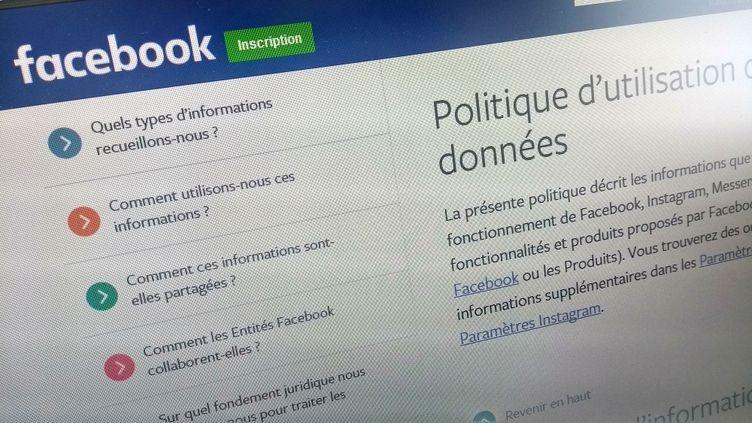 Image d'illustration de la plateforme Facebook. (RADIO FRANCE)