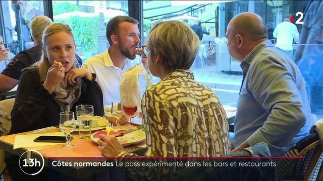 Pass sanitaire : déjà appliqué dans certains restaurants des côtes normandes