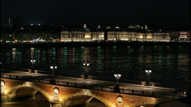 Bordeaux, vue de nuit (illustration). (COTTEREAU FABIEN / MAXPPP)