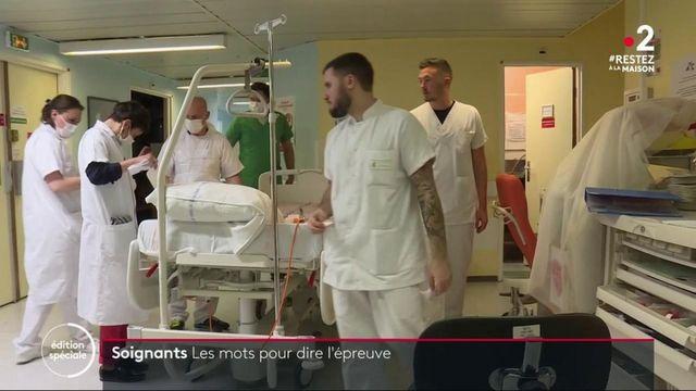 Coronavirus : des soignants témoignent