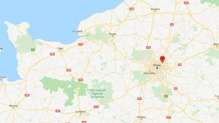 C'est dans la gare RERd'Aulnay-sous-Bois, en Seine-Saint-Denis, que la jeune femme a été interpellée ((GOOGLE MAPS))