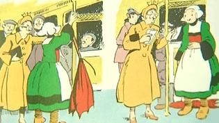 Exilée à Paris pour devenir bonne d'enfant, Bécassine illustre l'exode des Bretons vers la capitale à la fin du 19e siècle  (France 3 Culturebox (capture vidéo))
