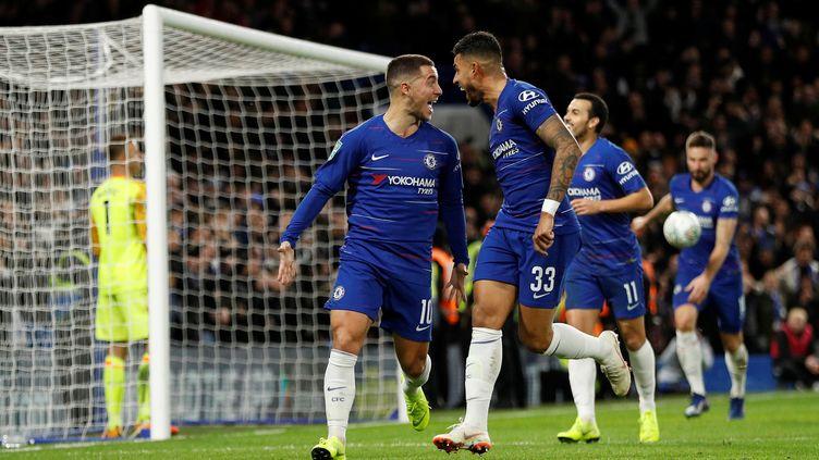 Un match entre Chelsea et Bournemouth, à Londres, le 19 décembre 2018. (PETER NICHOLLS / REUTERS)
