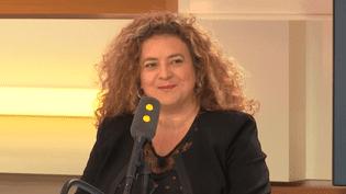 Estelle Barthélemy, confondatrice du cabinet de recrutement Mozaïk RH, le 22 mai 2018. (FRANCEINFO / RADIOFRANCE)
