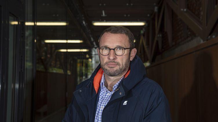 David Le Bars, secrétaire général du SCPN, syndicat des commissaires de la police nationale. (LP/YANN FOREIX / MAXPPP)