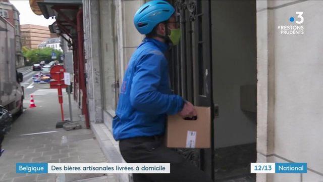 Belgique : livraison à domicile de bières artisanales