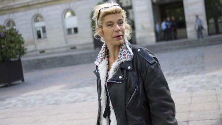 L'ex-porte-parole de la Manif pour tous, Frigide Barjot, le 29 mai 2013 à Paris. (FRED DUFOUR / AFP)