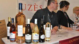 Salon de la gastronomie et du vin à Metz le 5 avril 2014. (CITIZENSIDE/SPATAZZA TONI / CITIZENSIDE.COM)