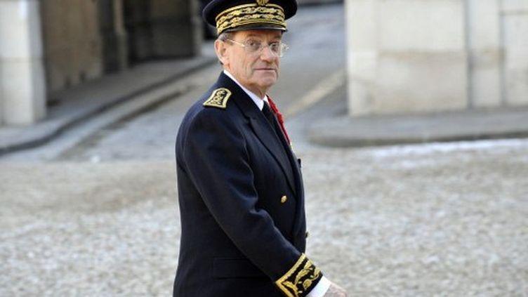 Michel Gaudin, préfet de Paris proche de Nicolas Sarkozy, s'est vu signifier son départ par Manuel Valls. (GERARD CERLES / AFP)