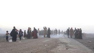 Une vingtaine de villages aux alentours de Mossoul ont été repris à l'EIpar l'armée irakienne. (FERIQ FEREC / ANADOLU AGENCY)
