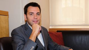 Benoit Mouchart, a été nommé chez Casterman  (©Gael Dupret/MaxPPP )