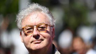 Dominique Besnehard a annoncé vendredi 10 juillet la programmation du 13è festival du film francophone d'Angoulême. (LOIC VENANCE / AFP)
