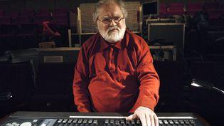 Le compositeurPierre Henry, le 9 décembre 2007. (STEPHANE DE SAKUTIN / AFP)