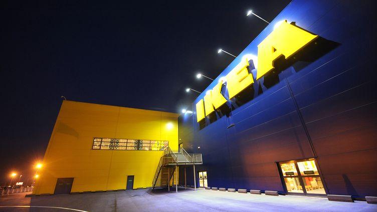 Le siège d'Ikea France à Plaisir (Yvelines), le 9 février 2010. (MAXPPP)