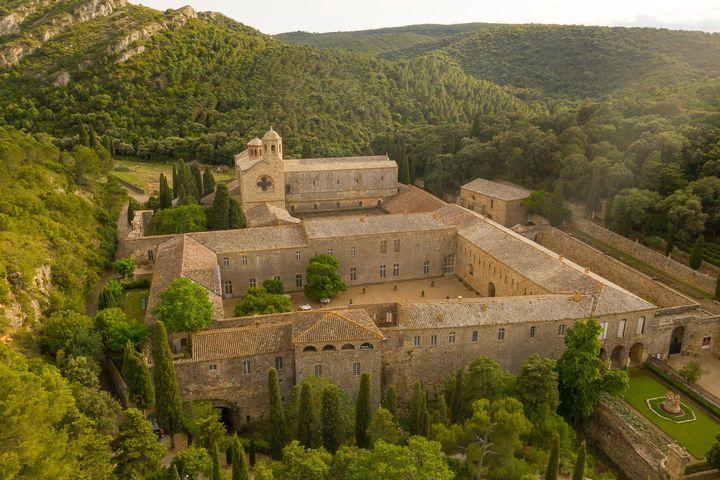 L'abbaye de Fontfroide dans l'Aude. (Yann Monel)