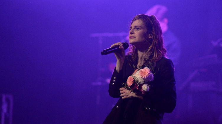 Christine and the Queens sur scène à Angers, au Chabada (28 février 2015)  (Josselin Clair / PhotoPQR / Le Courrier de l'Ouest / MaxPPP)
