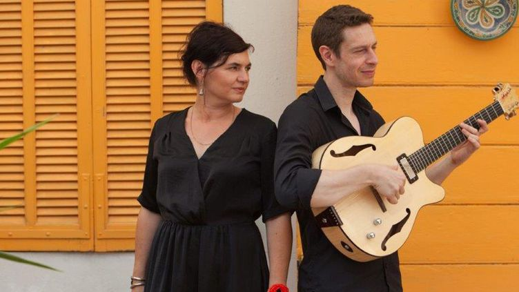 "Sylvie Paz et Diego Lubrano du groupe ""La ultima !""  (Mathieu Mangaretto )"