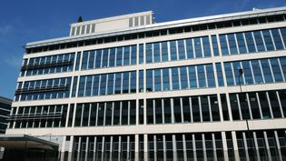Le siège de la Direction générale de la sécurité intérieure, à Levallois-Perret (Hauts-de-Seine), le 6 août 2008. (BERTRAND GUAY / AFP)