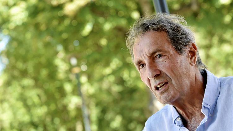 Jean-Jacques Bourdin, le 14 août 2019, à Montpellier (Hérault). (MAXPPP)