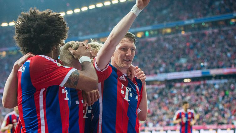 Bastian Schweinsteiger a marqué samedi le but de la victoire pour le Bayern  (MARC M?LLER / DPA)