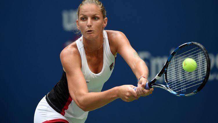 Karolina Pliskova est n°5 mondiale (TIMOTHY A. CLARY / AFP)