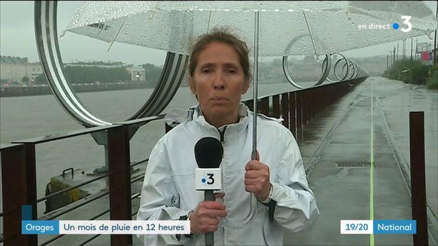 Orages : la Loire-Atlantique et le Maine-et-Loire sous les eaux