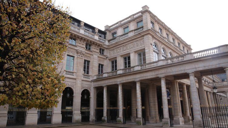 Le ministère de la Culture, rue de Valois à Paris (OLIVIER BOITET / PHOTOPQR / LE PARISIEN / MAXPPP)