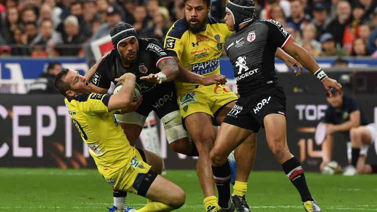 La finale du Top 14 entre Toulouse et Clermont, le 15 juin 2019, au Stade de France. (ALAIN JOCARD / AFP)