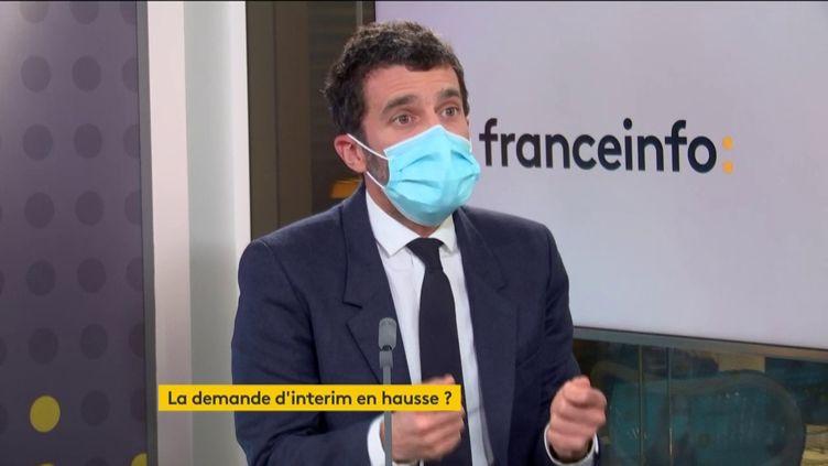 Alexandre Viros, Président d'Adecco France (FRANCE INFO/ RADIO FRANCE)