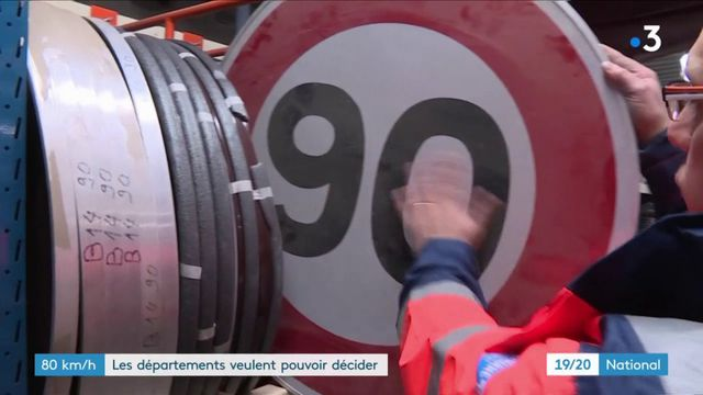 80 km/h : les départements veulent pouvoir décider